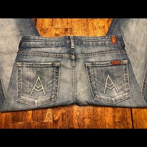 "Nice! 7 for all mankind Jeans ""A"" Pocket sz 27x33"